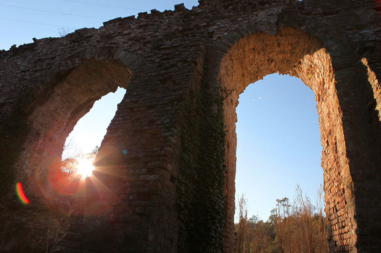 Ruins in Frejus, France