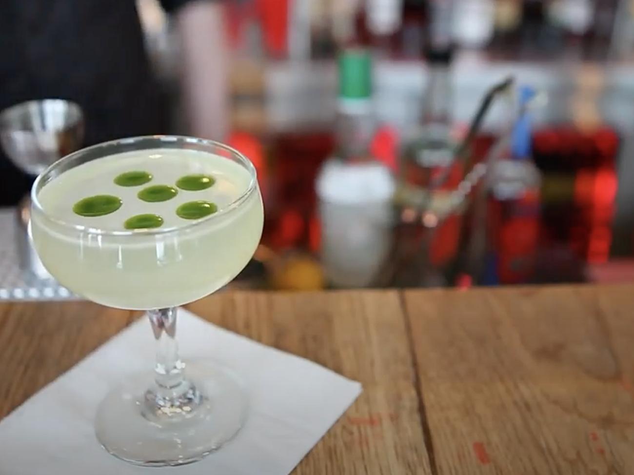 cocktails at Slippbarinn Reykjavik
